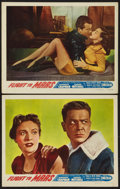 "Movie Posters:Science Fiction, Flight to Mars (Monogram, 1951). Lobby Cards (2) (11"" X 14"").Science Fiction.. ... (Total: 2 Items)"