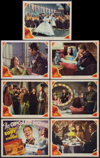 """The Chocolate Soldier (MGM, 1941). Title Lobby Card and Lobby Cards (6)(11"""" X 14""""). Musical. ... (Total: 7 Ite..."""