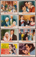 "Movie Posters:Drama, Beau Brummell (MGM, 1954). Lobby Card Set of 8 (11"" X 14""). Drama..... (Total: 8 Items)"
