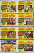 """Movie Posters:War, Battle Circus (MGM, 1953). Lobby Card Set of 8 (11"""" X 14""""). War..... (Total: 8 Items)"""