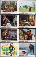 """Movie Posters:Fantasy, Darby O'Gill and the Little People (Buena Vista, 1959). Lobby Card Set of 8 (11"""" X 14""""). Fantasy.. ... (Total: 8 Item)"""