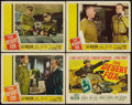 "Movie Posters:War, The Desert Fox & Other Lot (20th Century Fox, 1951). TitleLobby Cards, Lobby Cards (3) & Lobby Card Set of 8 (11"" X 14"").W... (Total: 12 Items)"