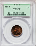 Proof Indian Cents: , 1884 1C PR65 Red PCGS. PCGS Population (48/40). NGC Census: (48/34). Mintage: 3,942. Numismedia Wsl. Price for problem free...