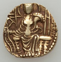 Ancients:Oriental, Ancients: INDIA. Kushan Empire. Shaka (ca. AD 300-330). AV dinar(7.84 gm). ...