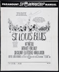 Movie Posters:Drama, St. Louis Blues and Others Lot (Paramount, 1958). Uncut Pressbooks (3) (Multiple Pages, Various Sizes). Drama.. ... (Total: 3 Items)