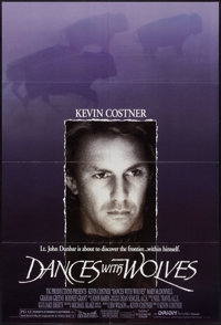 "Dances with Wolves (Orion, 1990). One Sheet (27"" X 41"") DS. Western"
