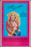 """Movie Posters:Adult, Flight Sensations and Others Lot (VCA, 1983). One Sheets (3) (27"""" X 40"""", 23"""" X 35"""", and 25"""" X 38"""" ). Adult.. ... (Total: 3 Items)"""