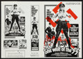 "Movie Posters:Exploitation, Ilsa, She Wolf of the SS & Other Lot (Aetas Films, 1975). UncutPressbooks (2) (4 Pages, 10"" X 14""). Exploitation.. ... (Total: 2Items)"