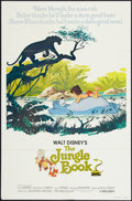 "Movie Posters:Animated, The Jungle Book (Buena Vista, R-1978). One Sheet (27"" X 41""). Animated.. ..."