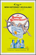 """Movie Posters:Sexploitation, The Swingin' Stewardesses and Other Lot (Hemisphere Pictures,1972). One Sheets (2) (27"""" X 41""""). Sexploitation.. ... (Total: 2Items)"""