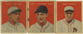 Baseball Cards:Lots, 1932 U.S. Caramel (R328) Group Lot of 3. Three vintage cards fromthe 1932 issue released by U.S. Caramel in 1932 are made ...