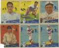 Baseball Cards:Lots, 1934 Goudey Group Lot of 18. Impressive group of 18 cards here comefrom the 1934 Goudey issue, one of the favorites in the...