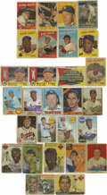 Baseball Cards:Lots, 1954-1969 Baseball Stars Group Lot of 28. While each of these cardsfeatures one of baseball's superstars from yesteryear, ...