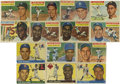Baseball Cards:Lots, 1955-1956 Topps Baseball Group Lot of 270. Highlights include 1955Topps #2 Williams, 50 Robinson, 189 Rizzuto, 198 Berra; ...