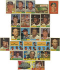 Baseball Cards:Lots, 1960-1961 Topps Baseball Group Lot of 583. Highlights include 1960Topps #18 Dodgers Team, 100 Fox, 250 Musial, 295 Hodges, ...