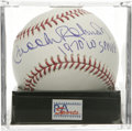 "Autographs:Baseballs, Brooks Robinson ""1970 WS MVP"" Single Signed Baseball, PSA Gem Mint10. The Human Vacuum Cleaner Brooks Robinson provides th..."