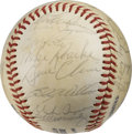 Autographs:Baseballs, 1980 Chicago Cubs Team Signed Baseball. A whopping thirtysignatures appear here courtesy of the 1980 Chicago Cubs squad. ...
