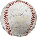 Autographs:Baseballs, 1980 San Diego Padres Team Signed Baseball. Twenty-two members ofthe 1980 San Diego Padres have checked in on this fine ON...