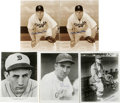 "Autographs:Photos, Baseball Hall of Famers Signed Photographs Lot of 11. Tremendouscollection of 11 black and white 8x10"" prints that we offe..."