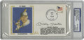 Autographs:Others, 1979 Mickey Mantle Signed First Day Cover, PSA Authentic. Thisfirst day cover dated June 12, 1979 commemorates the 40th an...