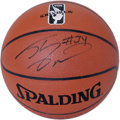 Basketball Collectibles:Balls, Shaquille O'Neal Single Signed Basketball. The brand new Spalding basketball that we put up for grabs here has been graced ...