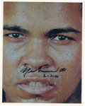 Boxing Collectibles:Autographs, Muhammad Ali Signed Photograph. Always one for playful banter,Muhammad Ali could make you forget that behind the joking an...