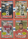 Football Cards:Sets, 1985 Topps USFL Football Complete Set (132). Complete set from the upstart league which competed with the NFL and included D...