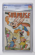 "Golden Age (1938-1955):Funny Animal, All Surprise #9 Davis Crippen (""D"" Copy) pedigree (Timely, 1946)CGC VF+ 8.5 Off-white to white pages...."