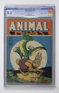 "Golden Age (1938-1955):Funny Animal, Animal Comics #13 Davis Crippen (""D"" Copy) pedigree (Dell, 1945)CGC VF+ 8.5 Cream to off-white pages...."