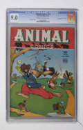 "Golden Age (1938-1955):Funny Animal, Animal Comics #16 Davis Crippen (""D"" Copy) pedigree (Dell, 1945)CGC VF/NM 9.0 Cream to off-white pages...."