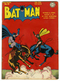 Modern Age (1980-Present):Superhero, Batman #21 (DC, 1944) Condition: VG+....