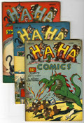 "Golden Age (1938-1955):Funny Animal, Ha Ha Comics #30-34 Group - Davis Crippen (""D"" Copy) pedigree (ACG,1946).... (Total: 5)"