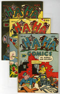 "Golden Age (1938-1955):Funny Animal, Ha Ha Comics #43-48 Group - Davis Crippen (""D"" Copy) pedigree (ACG,1947).... (Total: 6)"