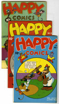 "Golden Age (1938-1955):Funny Animal, Happy Comics #15-20 and 23 Group - Davis Crippen (""D"" Copy)pedigree (Standard, 1946-48).... (Total: 7)"