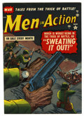 "Golden Age (1938-1955):War, Men In Action #1 Davis Crippen (""D"" Copy) pedigree (Atlas, 1952)Condition: VF...."