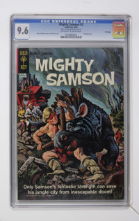 Mighty Samson #3 and 12 CGC File Copy Group (Gold Key, 1965-67).... (Total: 2)