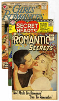 Silver Age (1956-1969):Romance, Miscellaneous Silver Age Romance Group (Various, 1957-67) Condition: Average VG.... (Total: 3)