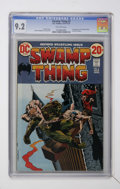 Bronze Age (1970-1979):Horror, Swamp Thing #2 (DC, 1973) CGC NM- 9.2 Off-white pages....