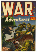 "Golden Age (1938-1955):War, War Adventures #9 Davis Crippen (""D"" Copy) pedigree (Atlas, 1952)Condition: VF+...."