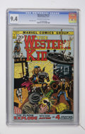 Bronze Age (1970-1979):Western, Western Kid #1 (Marvel, 1971) CGC NM 9.4 Off-white to white pages....