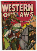 """Golden Age (1938-1955):Western, Western Outlaws #19 Davis Crippen (""""D"""" Copy) pedigree (Fox, 1949) Condition: FN. Overstreet 2006 FN 6.0 value = $63. From ..."""