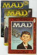 Magazines:Mad, Mad Group (EC, 1956-57) Condition: Average GD.... (Total: 6)