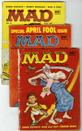Magazines:Mad, Mad Group (EC, 1958-59) Condition: Average GD.... (Total: 6)