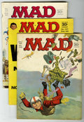 Magazines:Mad, Mad Group (EC, 1966-69) Condition: Average GD/VG.... (Total: 10)