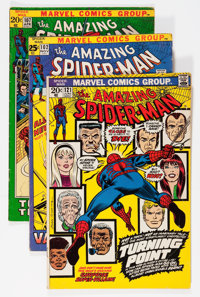 The Amazing Spider-Man Group (Marvel, 1971-73) Condition: Average VG.... (Total: 11 Comic Books)
