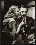 """Movie Posters:Drama, Ann Sheridan & George Raft in They Drive by Night by George Hurrell(Warner Brothers, 1940). Portrait Photo (10.25"""" X 13""""). D..."""