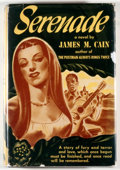 Books:Mystery & Detective Fiction, James M. Cain. Serenade. Cleveland: World, [1946]. Sixth printing. Octavo. 314 pages. Publisher's binding and dust j...