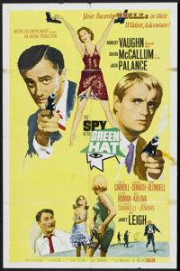 """The Spy in the Green Hat (MGM, 1966). One Sheet (27"""" X 41""""). Action"""