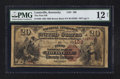 National Bank Notes:Kentucky, Louisville, KY - $20 1882 Brown Back Fr. 493 The First NB Ch. #109. ...