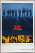 "Movie Posters:Western, The Wild Bunch (Warner Brothers, 1969). One Sheet (27"" X 41""). Western.. ..."